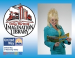 Announcement Enrollment for Dolly Parton's Imagination Library, Dolly Parton, United Way Logo